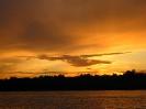Виды  Малого  Барково озера. Закат